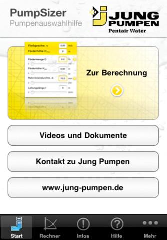 Jung PumpSizer