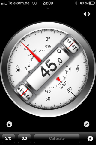 Clinometer - level and slope finder