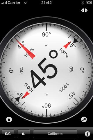 Clinometer - level and slope finder