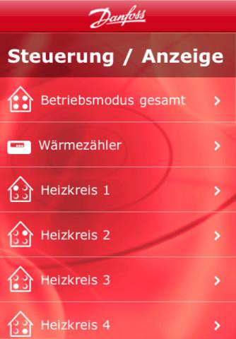 Danfoss Heating Remote Control