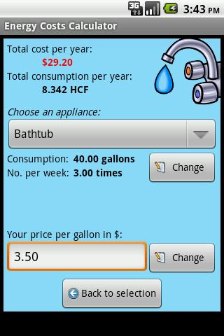 Energy Costs Calculator