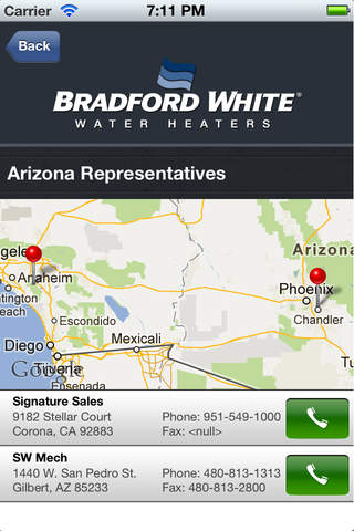 Bradford White Mobile Warranty Checker