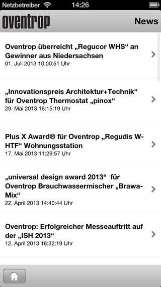 Oventrop App