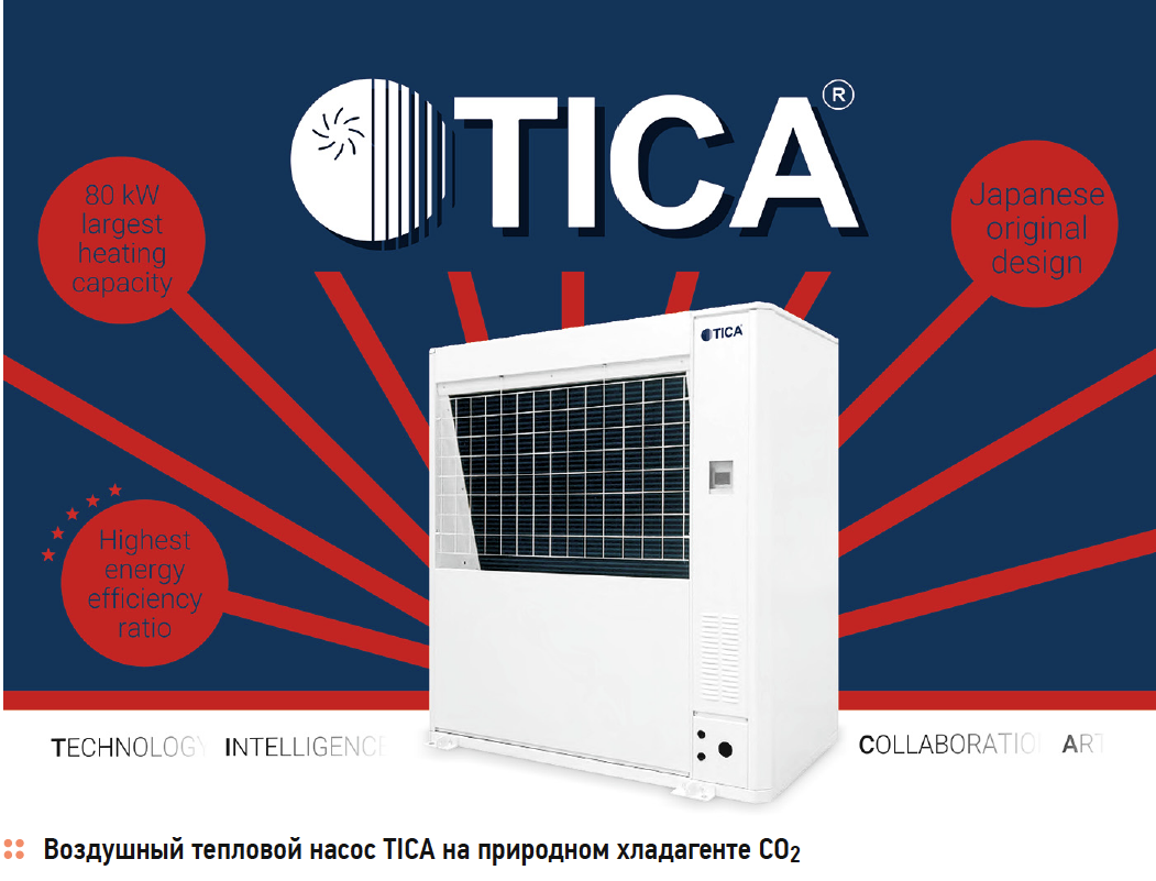 Тепловые насосы TICA на CO2 и R410a: инновации и классика. 9/2020. Фото 3