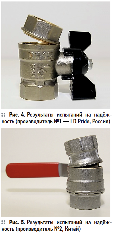 Определение «усиленных» возможностей шаровых кранов. 9/2020. Фото 5