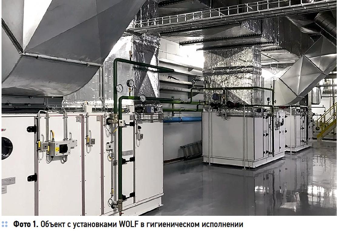 Гигиеническое исполнение в системах подготовки воздуха. 9/2020. Фото 2