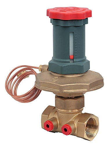 Регулятор давления перепада давления с мембранным клапаном