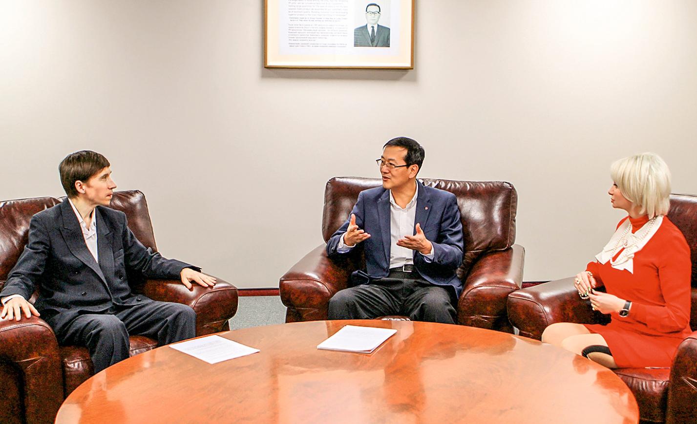 Иль Хван Ли, LG Electronics — слово о бизнесе и добрых делах. 4/2017. Фото 1