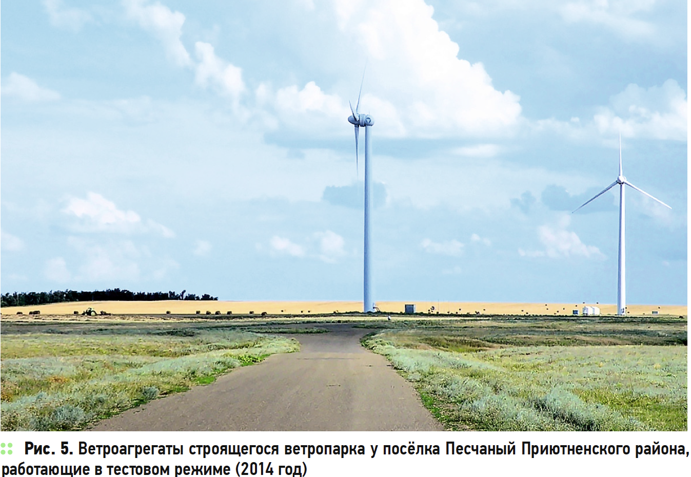 Возобновляемая энергетика в Калмыкии: опыт, проблемы и перспективы региона. 7/2017. Фото 7