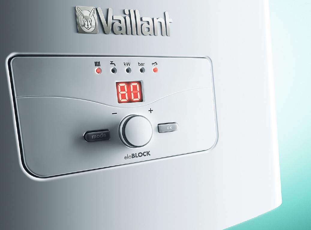 Электрический котёл Vaillant eloBLOCK — простое решение для небольшого дома . 10/2017. Фото 1