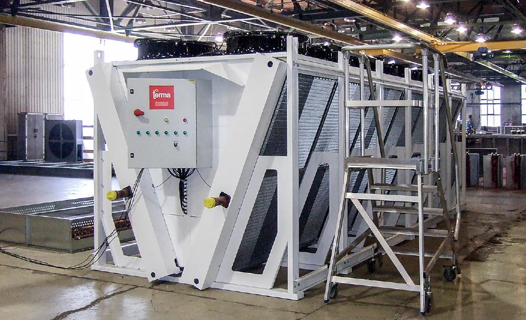 TERMA — производитель нагревателей воздуха и сухих градирен для котельных и когенерационных установок . 10/2017. Фото 2