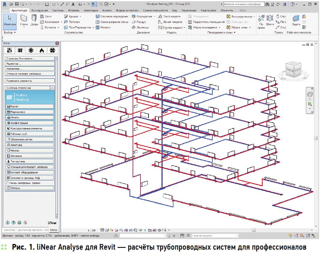 BIM. Проектирование инженерных систем: Quadratisch. Praktisch. liNear. 1/2018. Фото 2