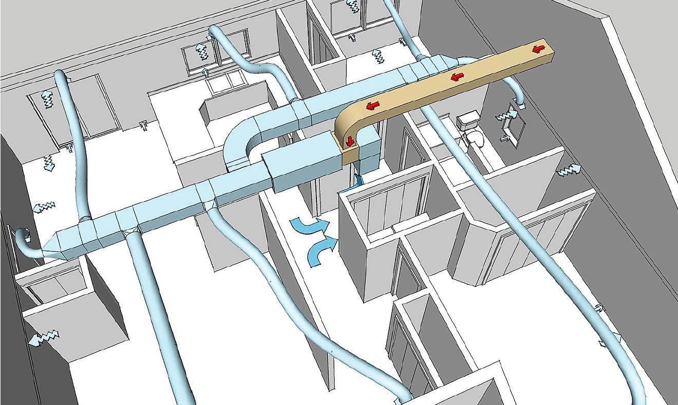 Технико-экономическое обоснование энергосбережения в общественных зданиях за счёт теплоутилизации в системах вентиляции. 1/2018. Фото 1