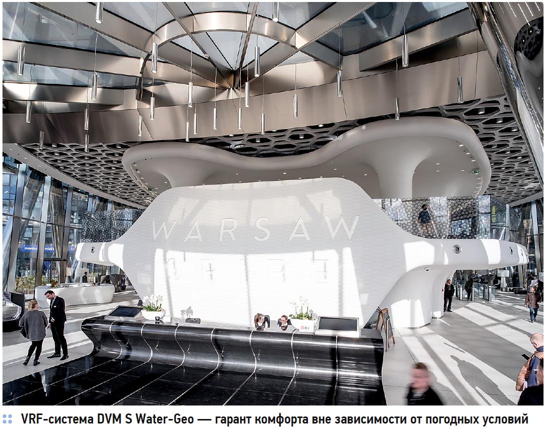 Водяные системы кондиционирования Samsung — оптимальное решение для высотных зданий. 2/2018. Фото 3