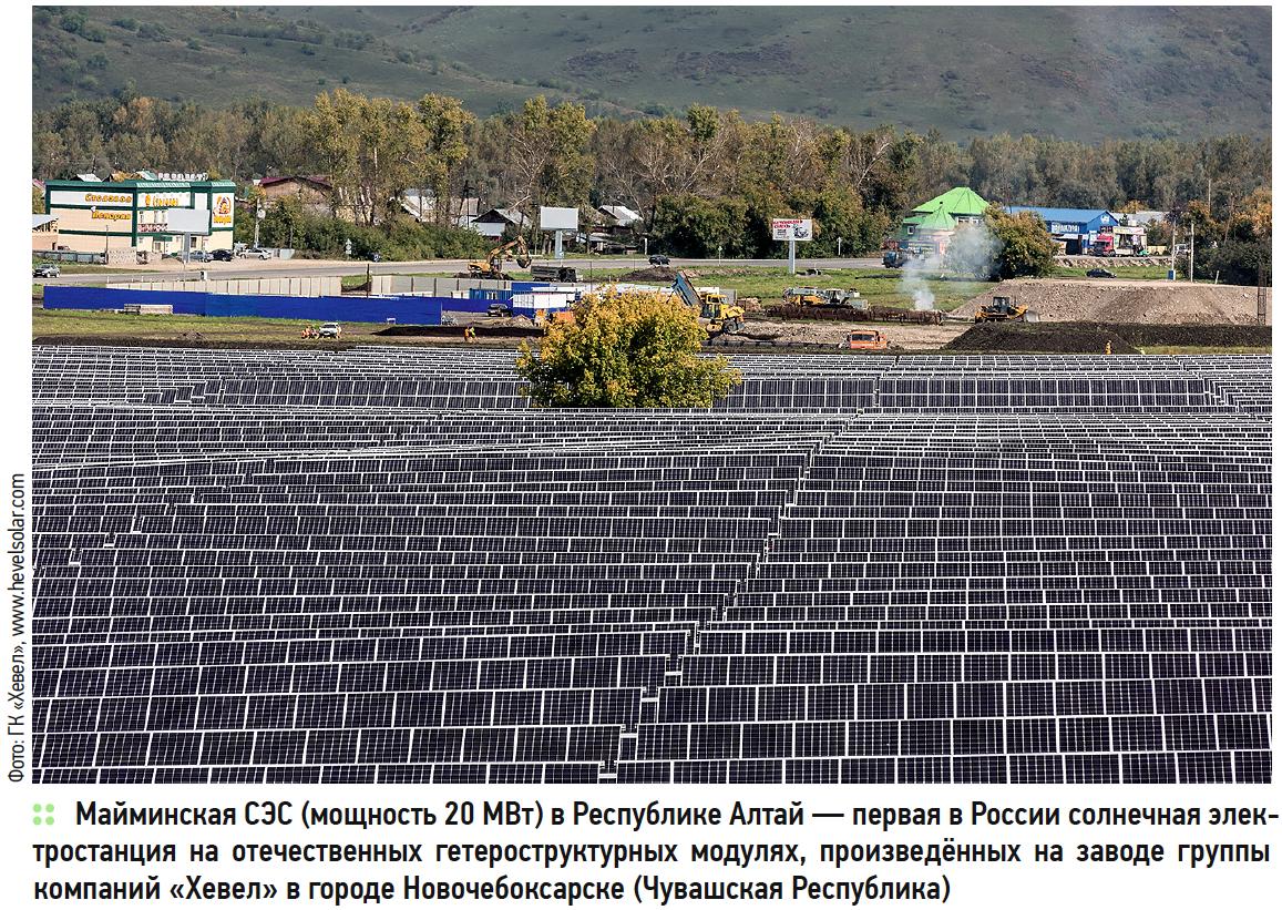 Риски развития возобновляемой энергетики в России. 5/2018. Фото 4