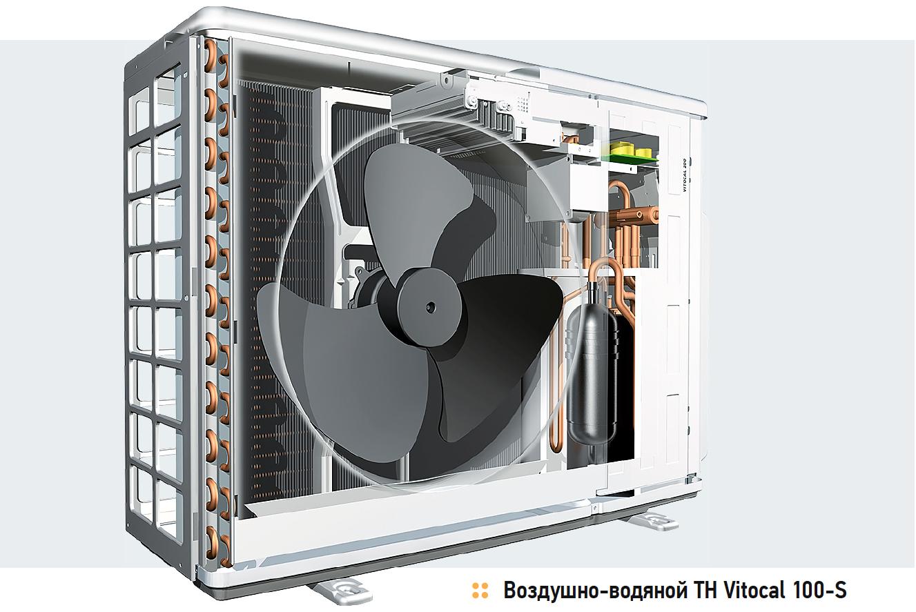 Новый воздушный тепловой насос от Viessmann Vitocal 100-S снизит затраты на энергоснабжение в два-три раза. 9/2018. Фото 1