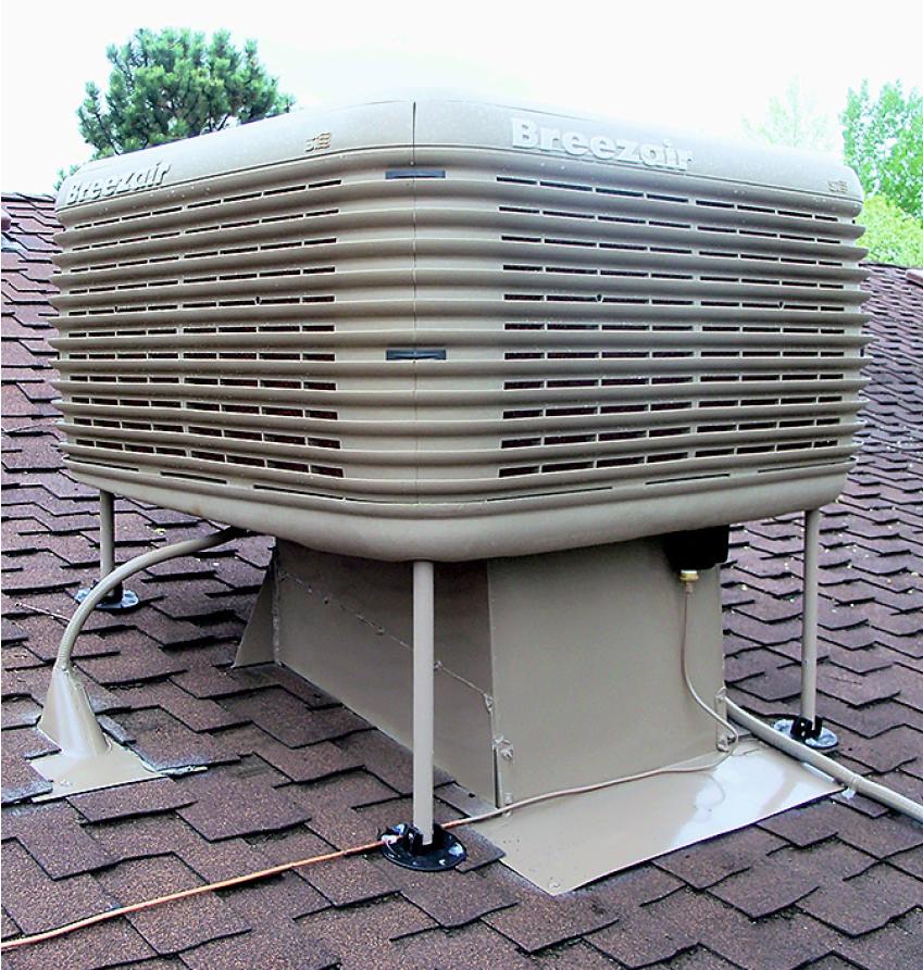 Энергоэффективность в системах кондиционирования воздуха с применением испарительного охлаждения. 8/2018. Фото 1