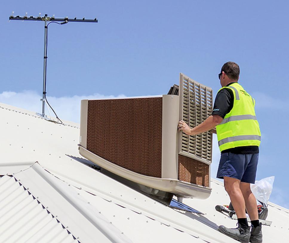 Энергоэффективность в системах кондиционирования воздуха с применением испарительного охлаждения. 8/2018. Фото 2