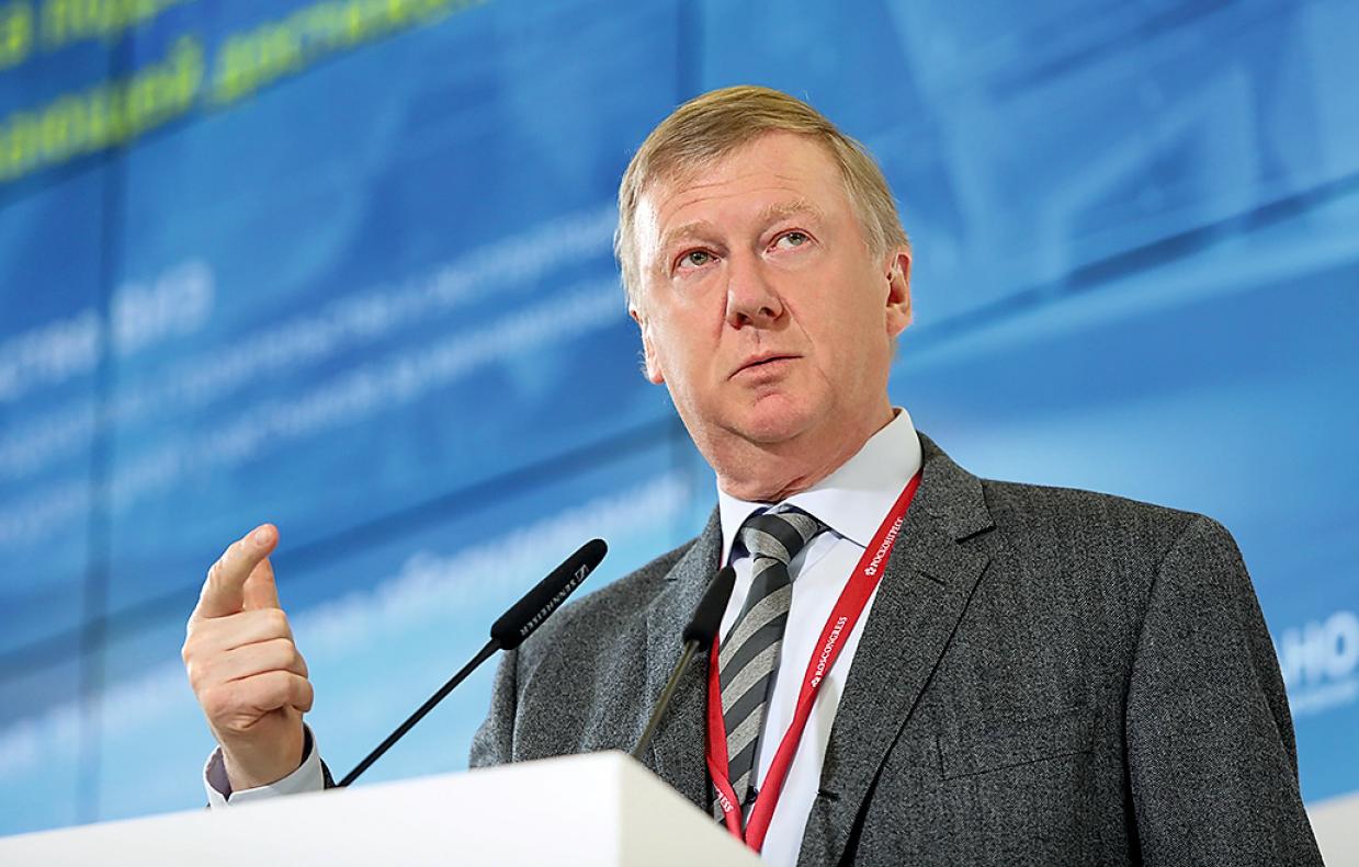 Анатолий Чубайс, председатель правления ООО «УК «Роснано»