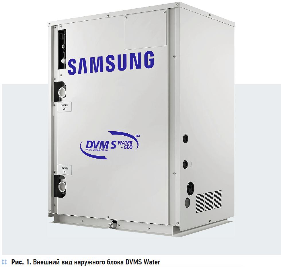 Внешний вид наружного блока DVMS Water
