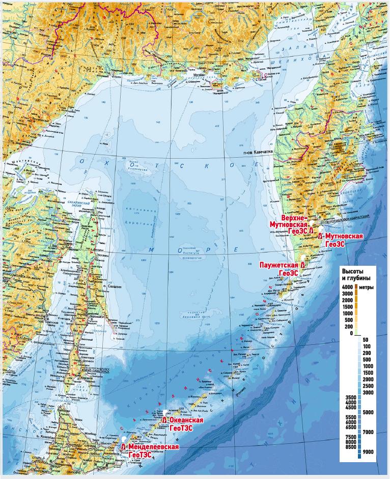 Геотермальные станции Российской Федерации
