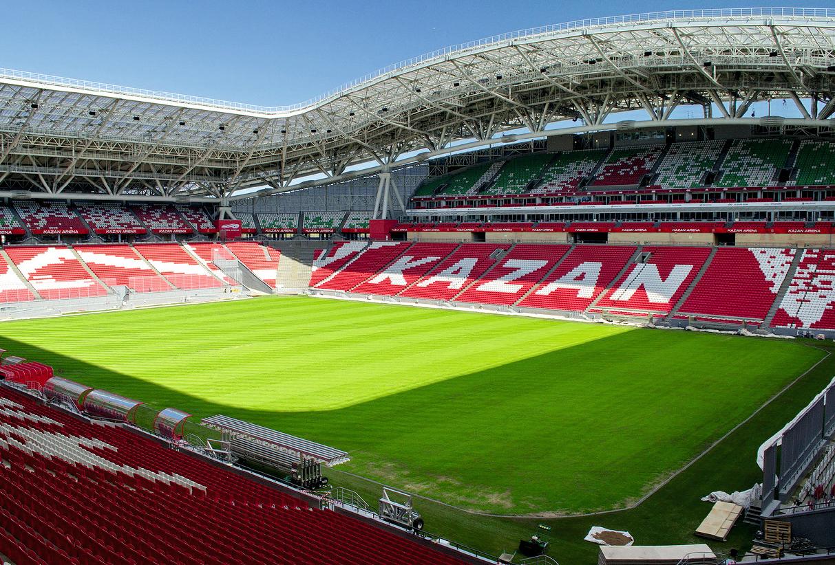 Стадион «Казань Арена» с оборудованием Viega. 12/2018. Фото 1