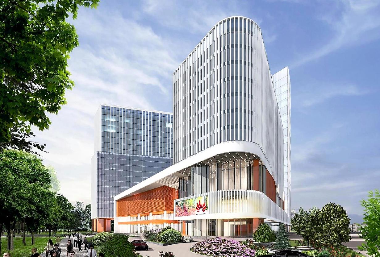 Новый отель премиум-класса Crowne Plaza в китайском деловом центре «Парк Хуамин» в Москве