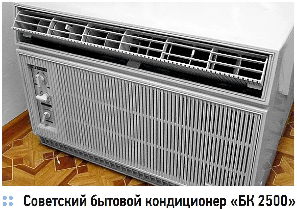 Советский бытовой кондиционер «БК 2500»