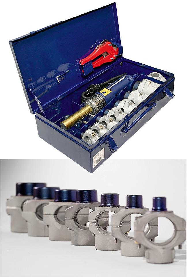Инструмент для сварки полипропиленовых труб. Выбрать и не ошибиться. 5/2019. Фото 1