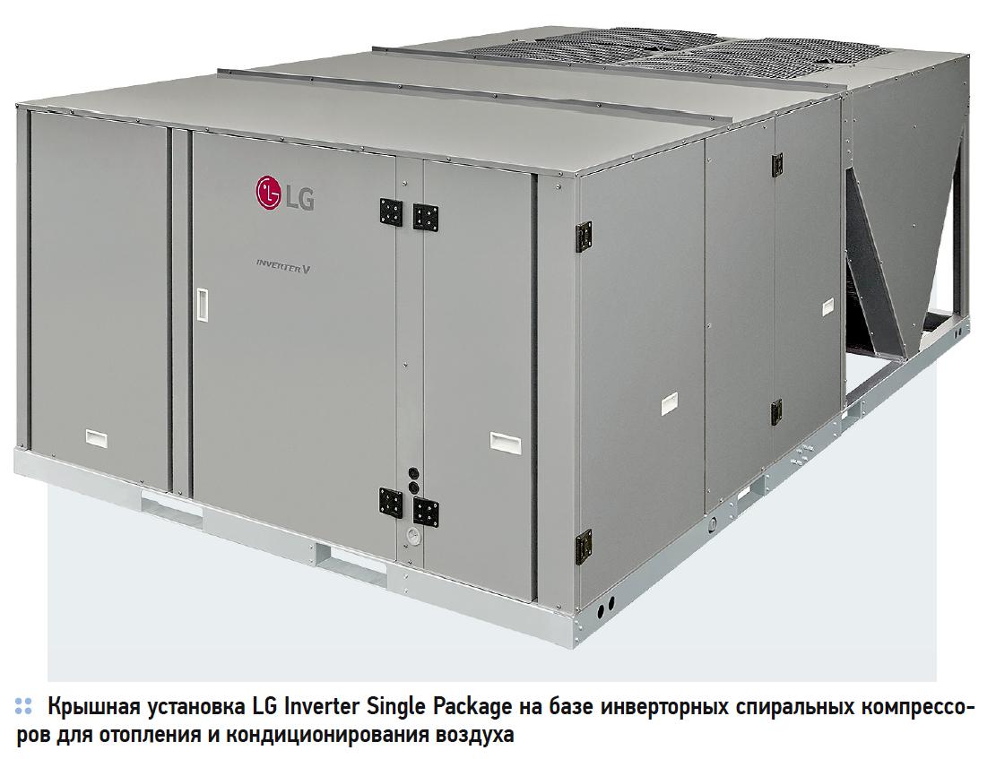 LG Inverter Single Package: превосходство в энергоэффективности, простоте монтажа и обслуживании. 5/2019. Фото 1
