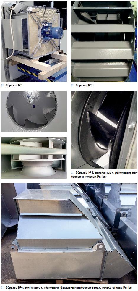 Лабораторное тестирование аэродинамики серийных крышных вентиляторов на соответствие каталожным параметрам. 6/2019. Фото 4