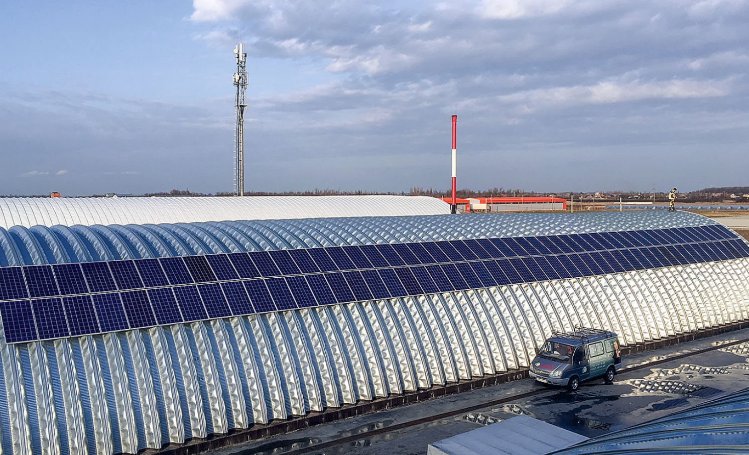 Проект: производственная компания, использующая ВИЭ с помощью гибридно-сетевой солнечной электростанции. 9/2019. Фото 1