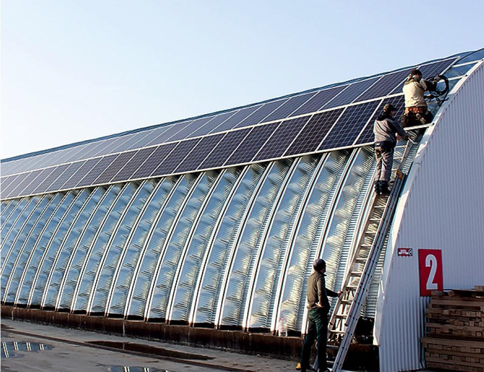Проект: производственная компания, использующая ВИЭ с помощью гибридно-сетевой солнечной электростанции. 9/2019. Фото 4