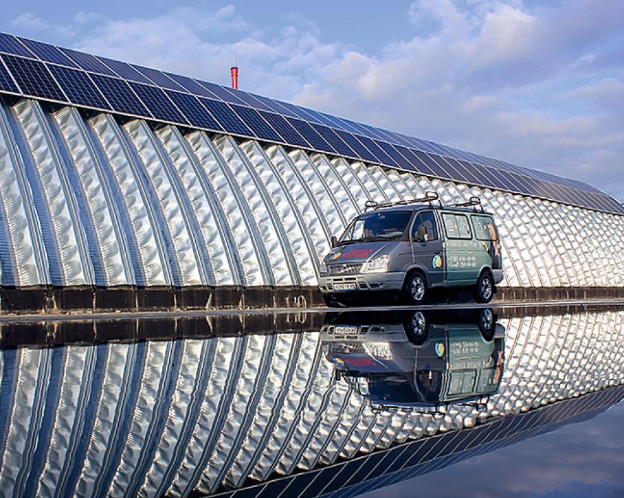 Проект: производственная компания, использующая ВИЭ с помощью гибридно-сетевой солнечной электростанции. 9/2019. Фото 6