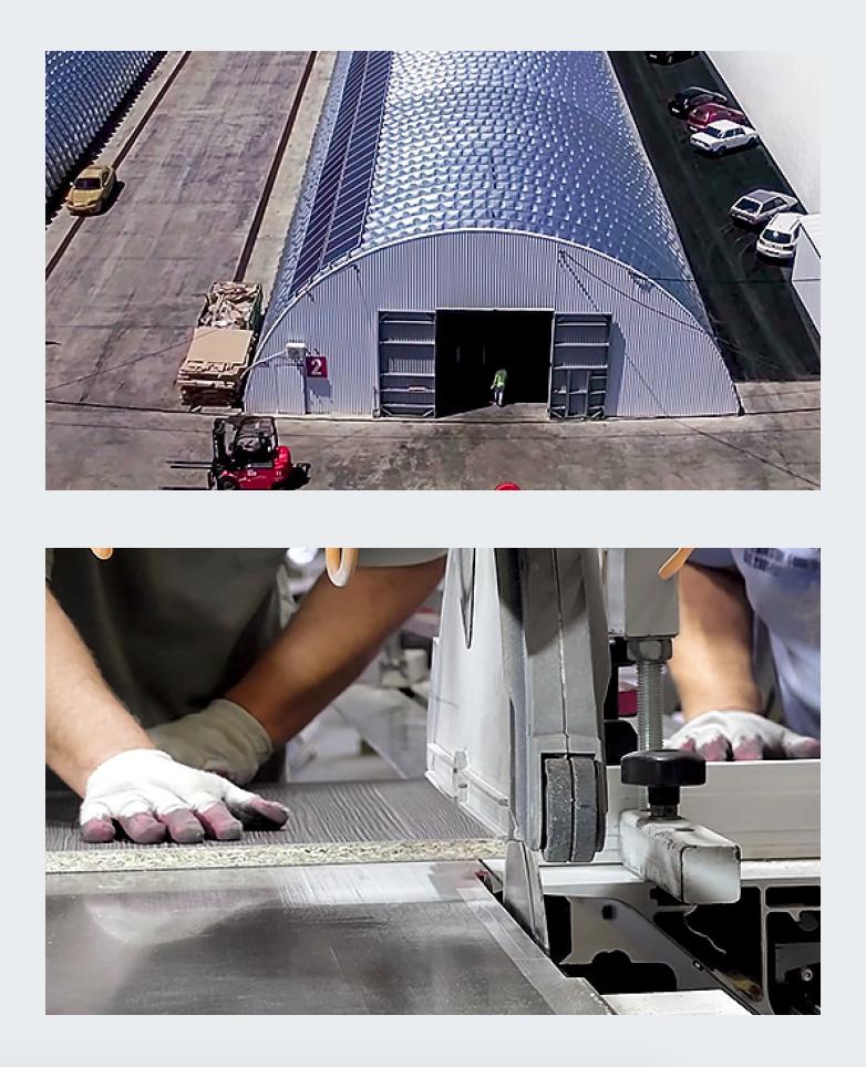 Проект: производственная компания, использующая ВИЭ с помощью гибридно-сетевой солнечной электростанции. 9/2019. Фото 2