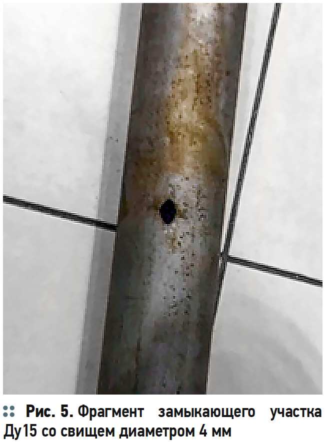 Ускоренная коррозия оцинкованных трубопроводов в системах ГВС. 7/2019. Фото 7