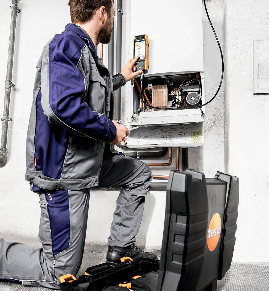 Ведущие производители котельного оборудования оценили новый smart-анализатор testo 300. 9/2019. Фото 3