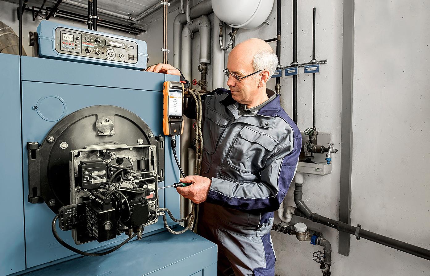 Ведущие производители котельного оборудования оценили новый smart-анализатор testo 300. 9/2019. Фото 4