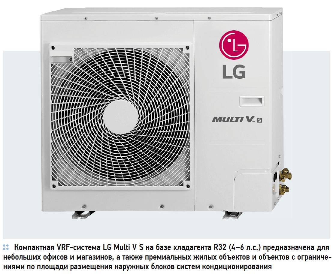 Компактные VRF-системы Multi V S на базе хладагента R32. 9/2019. Фото 2