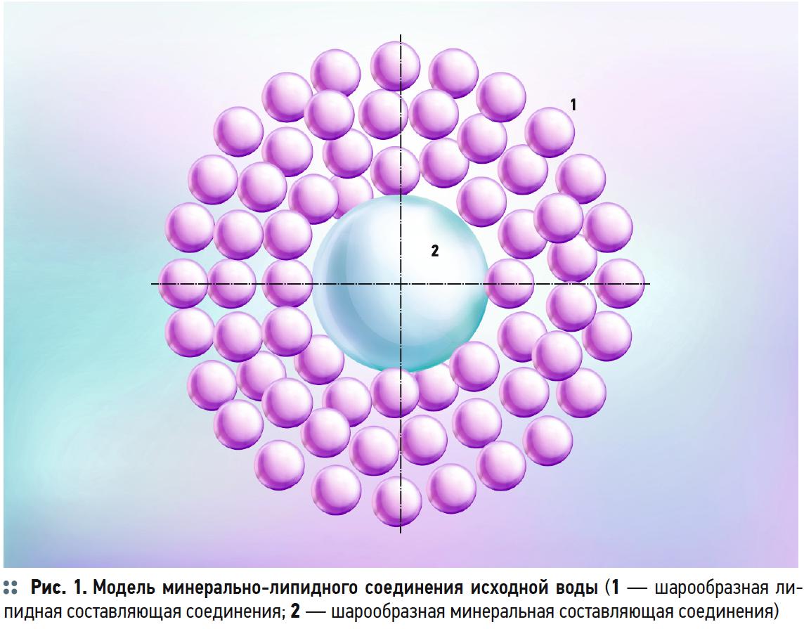 Теоретическая разработка модели ультразвукового воздействия на минерально-липидные соединения в воде. 10/2019. Фото 3