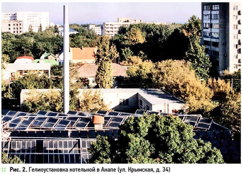 Солнечное теплоснабжение в Краснодарском крае. 10/2019. Фото 2