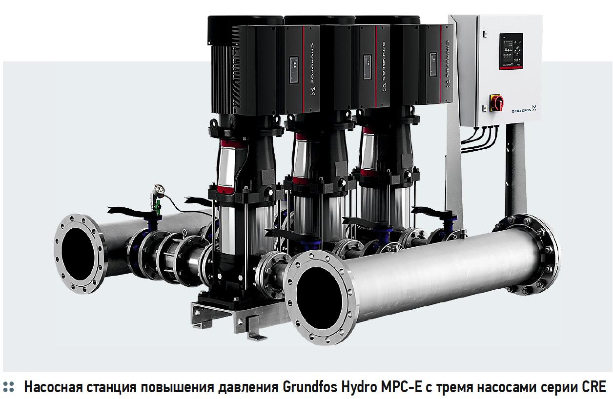 Насосное оборудование Grundfos для нового терминала аэропорта «Домодедово». 11/2019. Фото 1