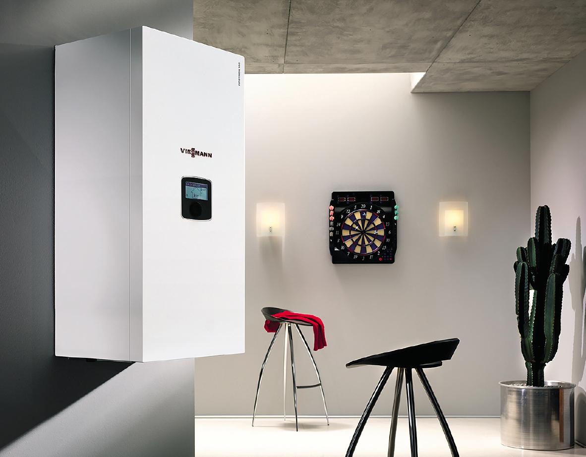 Viessmann вывела на рынок энергоэффективный электрический котёл Vitotron. 11/2019. Фото 1