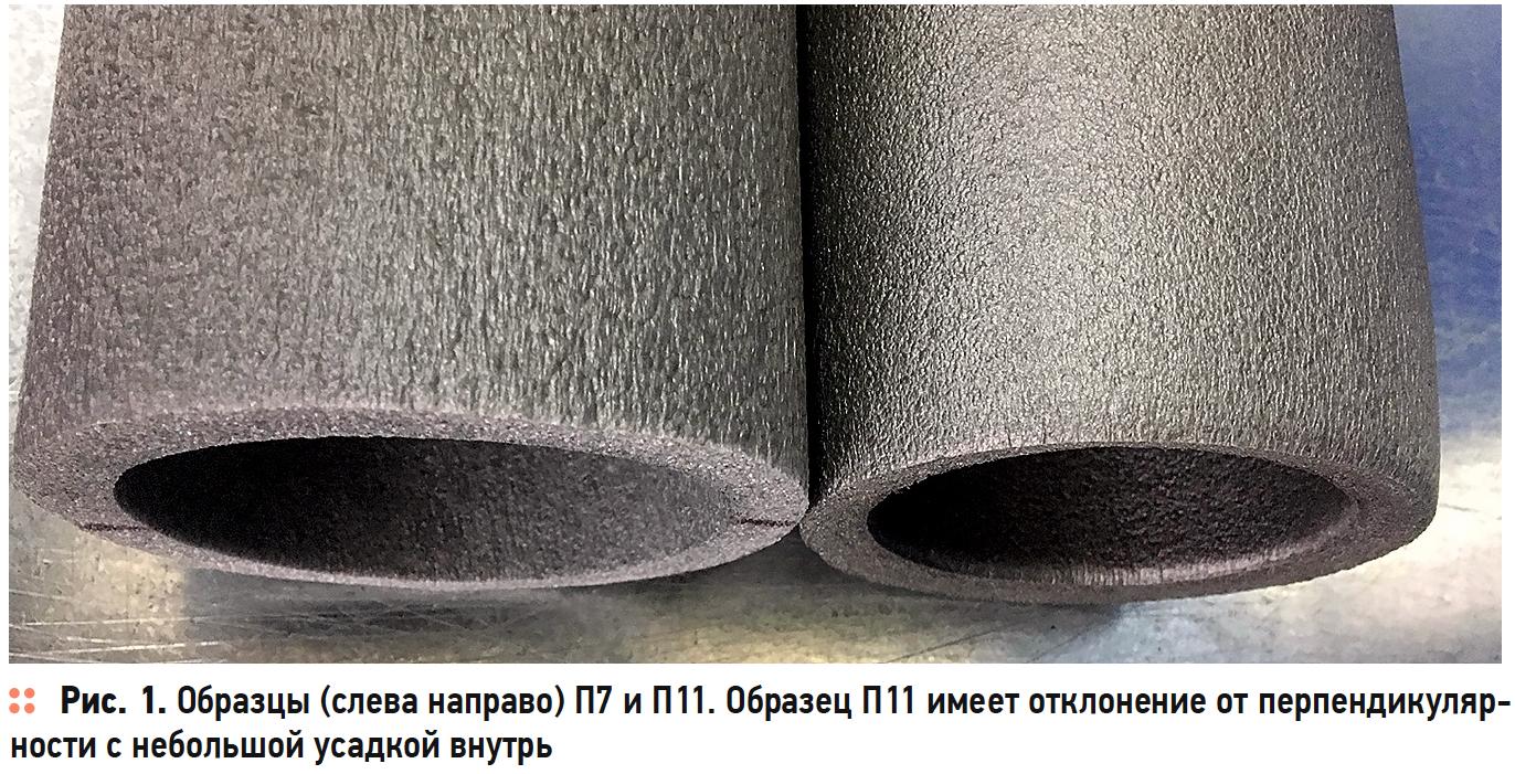 Исследование тепловой изоляции на основе вспененного полиэтилена в форме трубок. Часть 2. Геометрические параметры. 12/2019. Фото 4