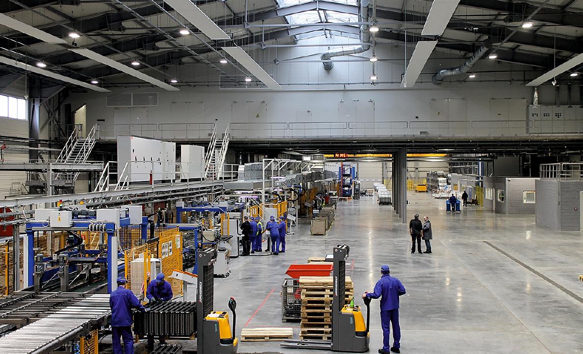 Kermi в России: компания открыла завод по производству стальных панельных радиаторов. 1/2020. Фото 3