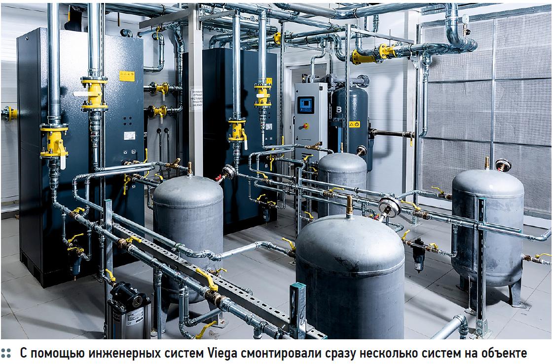 Проекты года. Инженерные системы с пресс-фитингами Viega системы Labs-free на лакокрасочном производстве. 1/2020. Фото 2