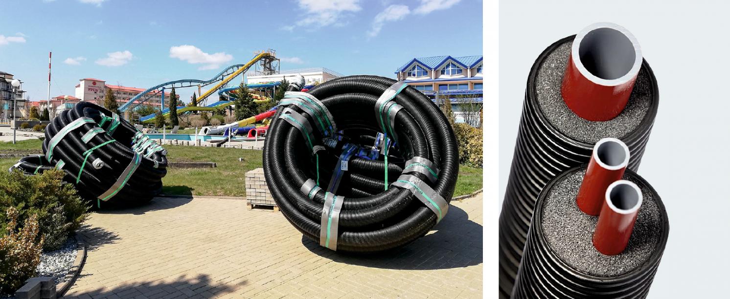 Проекты года. Гибкие теплоизолированные трубопроводы из полибутилена Flexalen для аквапарка. 2/2020. Фото 2