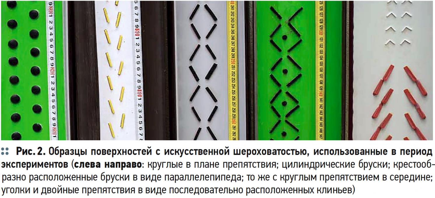 Исследование текстуры донной части открытых водосточных лотков. 4/2020. Фото 2