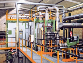Increase of heat emission in recuperative heat exchangers . 11/2011. Фото 1