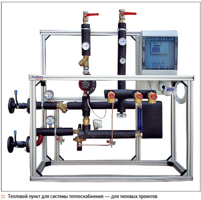 Individual heat supply stations. 11/2011. Фото 3